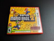 New Super Mario Bros. Brothers 2 Nintendo 3DS NRMT condition COMPLETE n box!