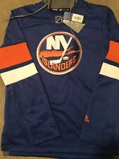 Adidas NHL NY Islanders Jersey Pullover Hoodie Embroidered (CB7317) NWT! SZ: S