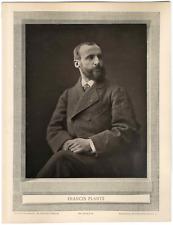 Galerie Contemporaine, Francis Planté (1839 - 1934), pianiste français  Photogly