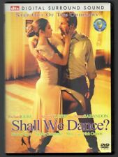 Shall We Dance (DVD, 2005, Widescreen) Richard Gere, Jennifer Lopez Susan Sarand
