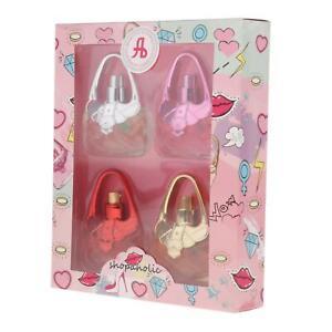 4x Eau De Fragrance Perfume Sets for Girls Body Mist Gift Set Long‑Lasting