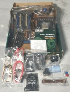 ASUS M3N-HT DELUXE MOTHERBOARD + AMD PHENOM II 940 CPU + IO COVER, FAN, CORDS