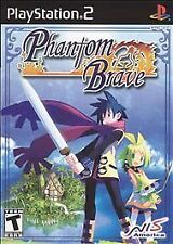 Phantom Brave Sony Playstation 2 PS2 Game Disc Only Black Label 36h