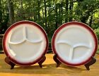 Vintage Retro Wellsville China Co. Divided Plate, Restaurant Ware ~ Pre-owned