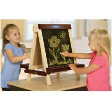 "Guidecraft Wooden Tabletop Easel G51031 Easel 17"" x 19"" x 19.5 NEW"