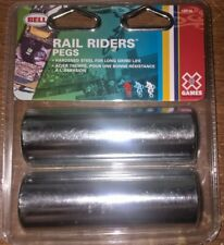 "NEW Bell Games Rail Riders Pegs Hardened Steel 3/8"" Axles # 109746"