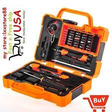 45 In 1 Screwdriver Pry Repair Opening Tools Box Set Kit For Pad Mobile Phone US