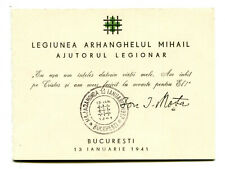 Romania 1941 Iron Guard,MARIN,MOTA Blk,MAJADAHONDA,Spain civil war,rare booklet