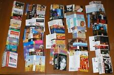Lot of 200 Music Cassette Tape Paper Inserts/Artwork for Pop, Classical, etc...