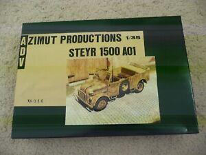 ADV azimut productions 1/35 35036 Steyr 1500 01 vehicle truck resin model kit