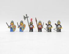 Lego 2 x Figur Ritter Löwenritter mit Zubehör Minifigur für Set 6012