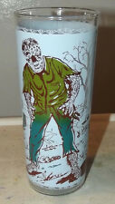 """Wolfman Universal pictures cartoon character glass 6 5/8"""""""