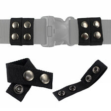 Tactical 4-Pack Belt Keeper 2.25 inch Duty Belt Double Snaps Strap Holder