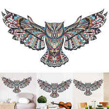 owl penning Wings Animal Wall Sticker Bird Vinyl sticker Decals Family Art Owl