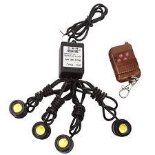 4 in 1 Car Xenon Hawkeye Emergency Flash Strobe 12V White LED Warning Light