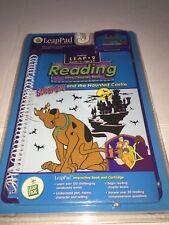 Leapfrog LeapPad Book + Cartridge Set Scooby Doo! & The Haunted Castle FREE SHIP
