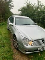 Mercedes c class coupe 180k FSH leather
