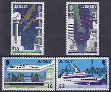 Jersey 1988 Europa - Transport & Communication Set UM SG443-6 Cat £2.10