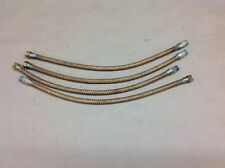 HALF TRACK ENGINE OIL LINE HOSE SET, LOWER AND UPPER FLEX HOSES, NOS MINT COND.
