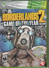 Borderlands 2 GOTY Game of the Year Edition Microsoft Xbox 360 Brand New Sealed
