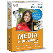 Individual Software Media Expressions Platinum,Photo Movie Editor Creator Tools