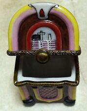 Juke Box - Limoges trinket box