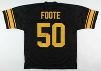Larry Foote Signed Pittsburgh Steelers Jersey (Beckett COA)
