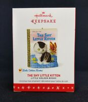 The Shy Little Kitten Golden Books 2016 Hallmark Keepsake Christmas Ornament NIB