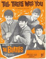 Till There Was You - The Beatles - 1963 Sheet Music