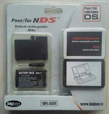 Batterie rechargeable pour NINTENDO DS (1) + Couvercle + Tournevis BIG BEN/ NEUF