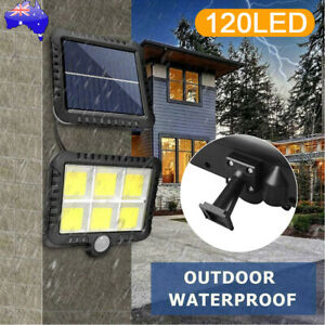 120 LED High-quality Outdoor Solar Garden Wall Light Motion Sensor Light