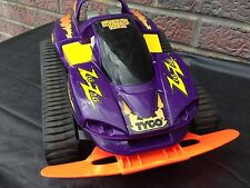 Rare Vintage Tyco 9.6V Turbo Zig Zag Black RC Remote Control Car Vehicle 1995