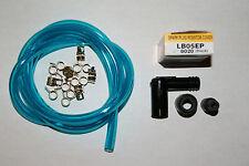 HUSQVARNA CR WR CARBURETOR NGK LB05EP Spark Plug Cap + 1/4 FUEL LINE+CLAMPS
