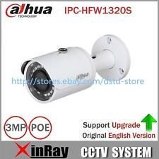 DaHua IPC-HFW1320S 3MP Bullet IR CCTV POE IP67 Camera Original Englisn Version