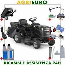 Trattorino Alpina AT4 84 - Cesto di raccolta - Motore Briggs&Stratton 344cc