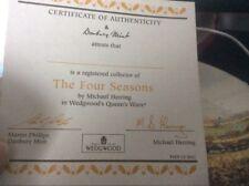 Danbury Mint Plates The Four Seasons