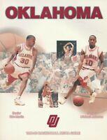 1998-99 Oklahoma Sooners NCAA Basketball Media Guide