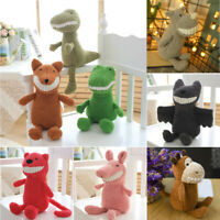 Cute Plush Fluffy Stuffed Animal Lovely Cartoon Doll Toys Baby Kids Gift 30CM