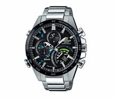 Casio EQB501XDB-1A Edifice Men's Watch Black/Stainless Steel WR 10 ATM RRP$629
