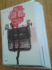 """""""The Fade Out"""" complete unread Ed Brubaker and Sean Phillips series"""