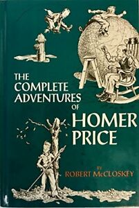HOMER PRICE By Robert Mccloskey - Hardcover *Excellent Condition*