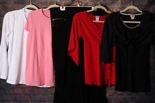 Sz M MEDIUM MATERNITY LOT Clothes Outfits Tops Shirts Pants Summer Winter