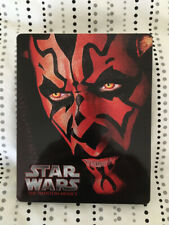 New ListingStar Wars Episode I: The Phantom Menace (Blu-ray Disc, 2015, SteelBook)