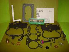 CARBURETOR REBUILD KIT FOR STROMBERG WWC 2 BBL 60-67 CHRYSLER DODGE PLYMOUTH V8
