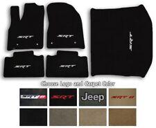 Jeep Grand Cherokee Ultimats Carpet 5pc Floor Mat Set - Choose Color & Logo