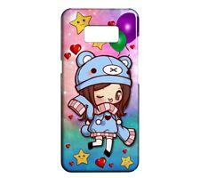Coque rigide mat pour Galaxy S10 Fashion Style Girl Fun Kawaii 40