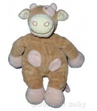Doudou peluche vache Lola rose beige Noukie's 26 cm