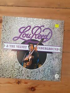 Lou Reed & The Velvet Underground vinyl