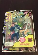 """New 1994 Wild Cats Warblade Figure 5"""" W/ Special Edition Collector Card Playmate"""