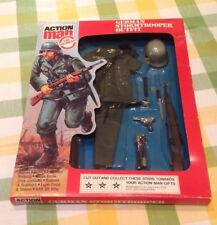 ORIGINAL VINTAGE ACTION MAN ~THE SOLDIERS~ CARDED GERMAN STORMTROOPER OUTFIT